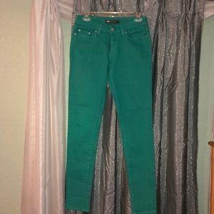 Levi's 535 Legging Jean NWOT Green 9M
